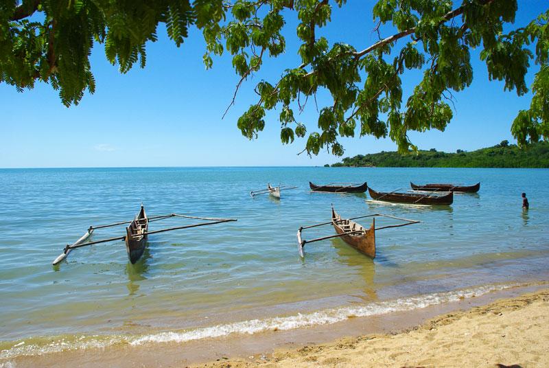 Piroghe - Riserva di Lokobe, Madagascar
